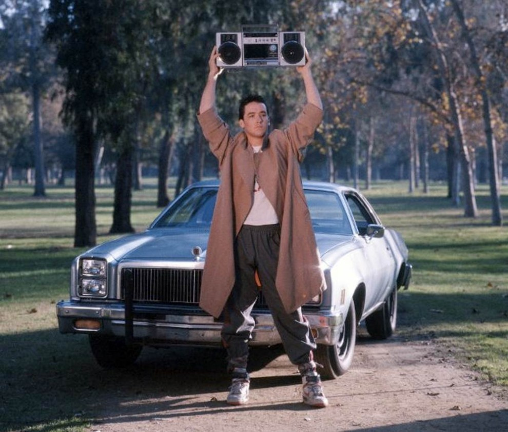 the boombox holder Dont Get Too Excited About That Say Anything NBC Reboot