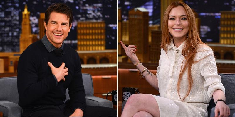 Tom Cruise Lindsay Lohan