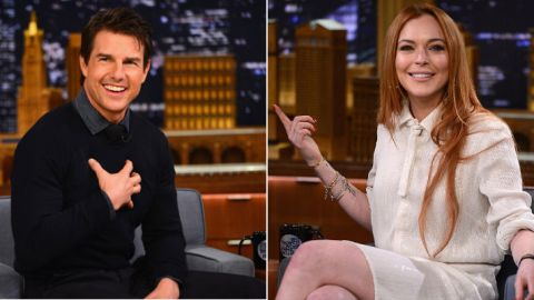 Cruise, Lohan Aren't Dating After All | StyleCaster