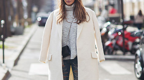 30 Outfits That'll Make You (Really) Want a White Coat