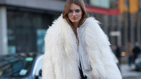 Editor's Pick: White Faux Fur | StyleCaster