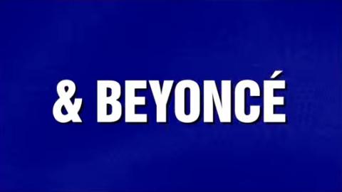 Beyoncé Was a Jeopardy Category | StyleCaster