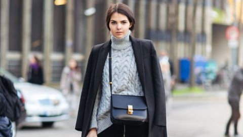 30 Ways to Jazz Up a Black Coat | StyleCaster