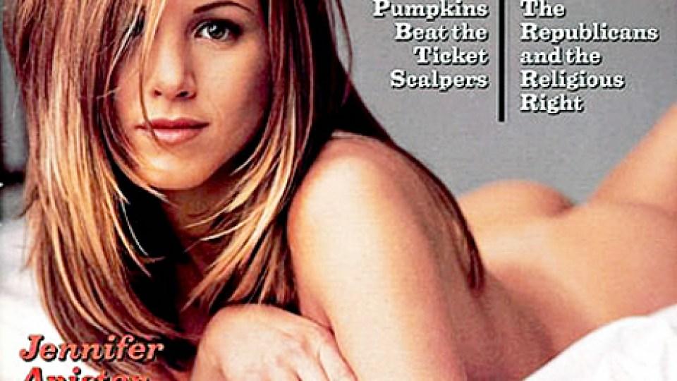 Aniston Talks Kim K's Butt Cover | StyleCaster