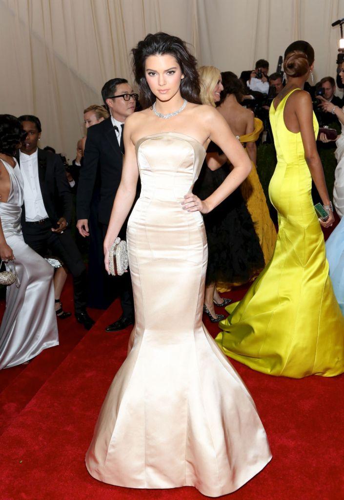 Kendall Jenner's Met Gala dress by Topshop