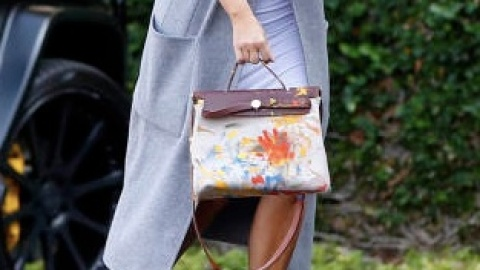 See the Hermès Bag North West Painted  | StyleCaster