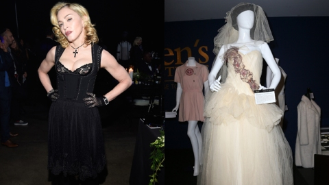 $81K For Madonna's Wedding Dress?! | StyleCaster