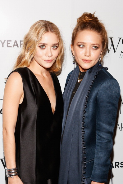 The twins in 2012. Getty Images