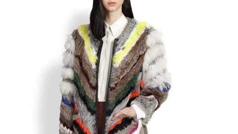 Multicolored Fur is Trending Hard | StyleCaster