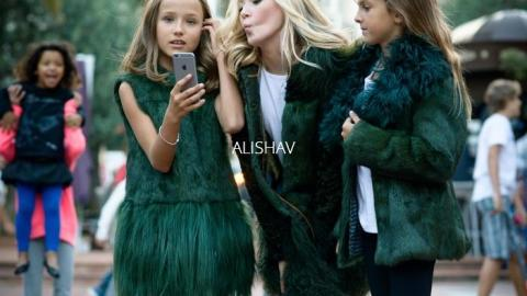 Meet Alicia, a 9-Year-Old Fur Designer  | StyleCaster
