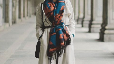 Try Belting Your Scarf This Winter | StyleCaster