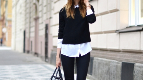 20 Ways to Rock a Cropped Sweater | StyleCaster