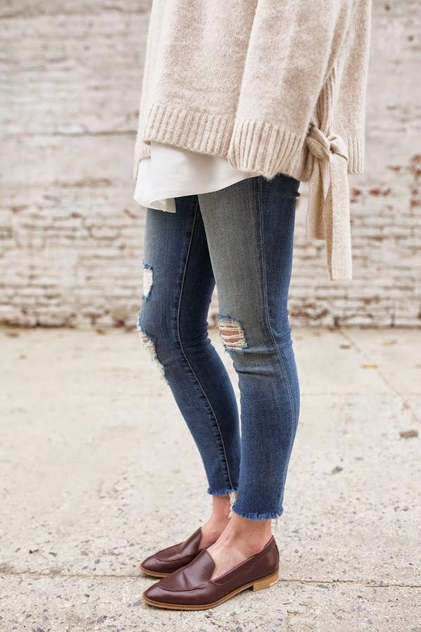 frayed jeans trend
