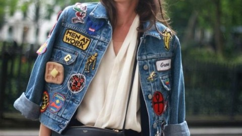 How to DIY a Patched Jean Jacket | StyleCaster