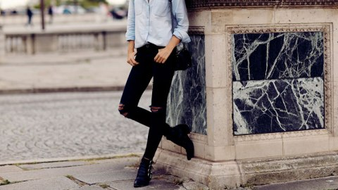 How to Wear Ankle Boots with Jeans   StyleCaster