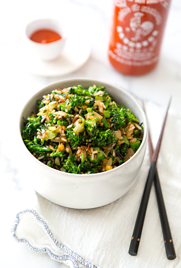 broccolini fried rice a house in the hills 1 101 Stylish Recipes to Try Now (and Instagram Later)