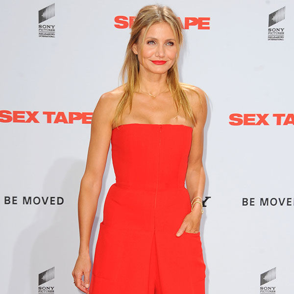 Cameron Diaz is engaged.