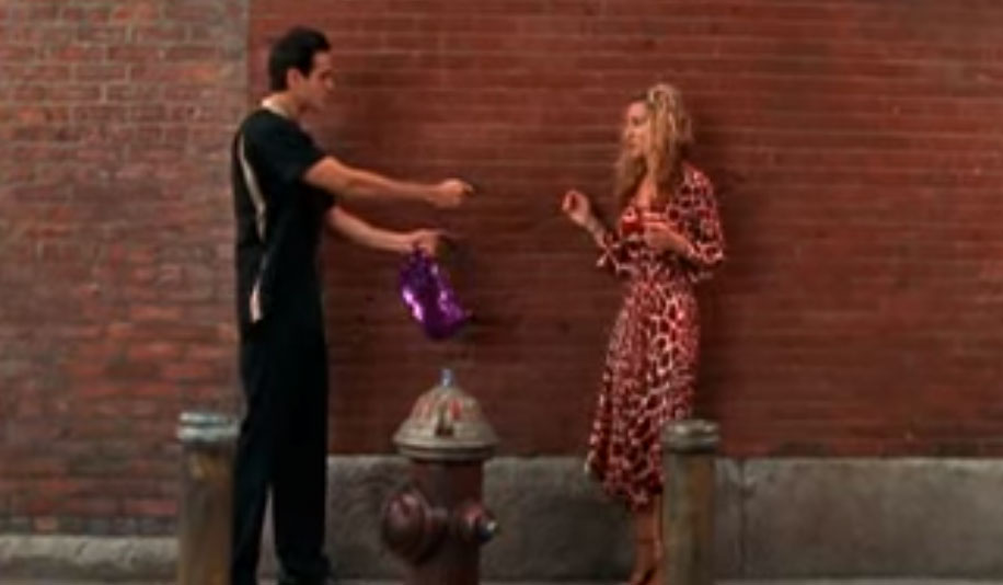 Carrie Bradshaw Robbed