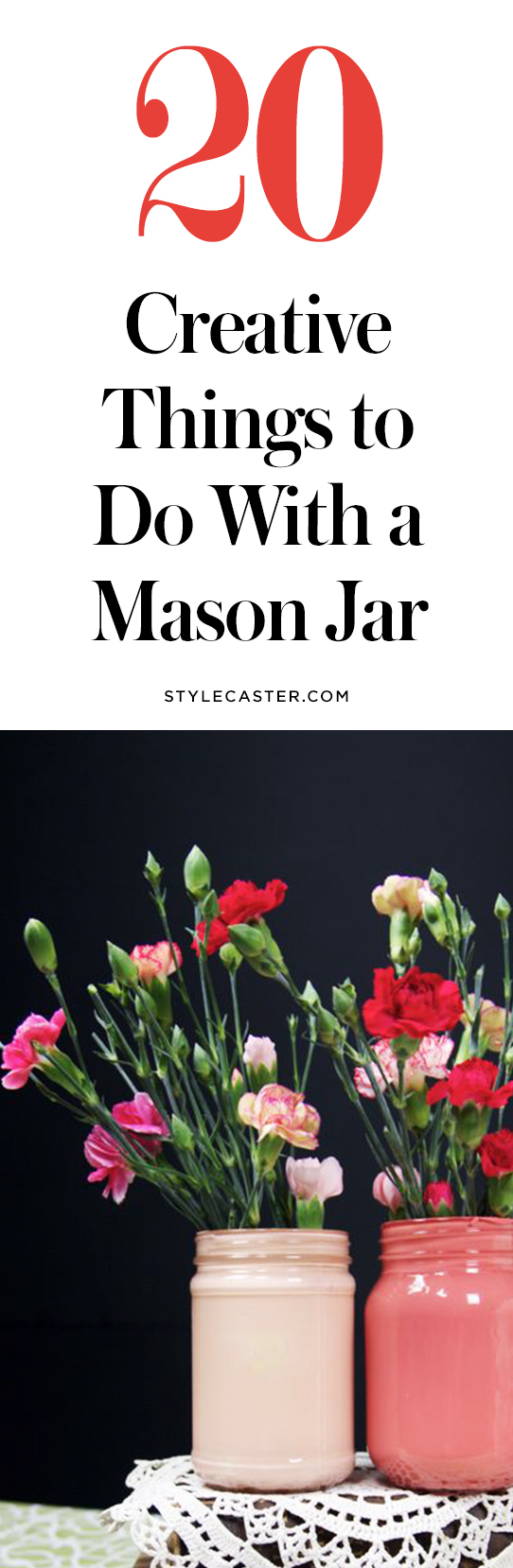 20 creative DIY things to do with a mason jar | @stylecaster