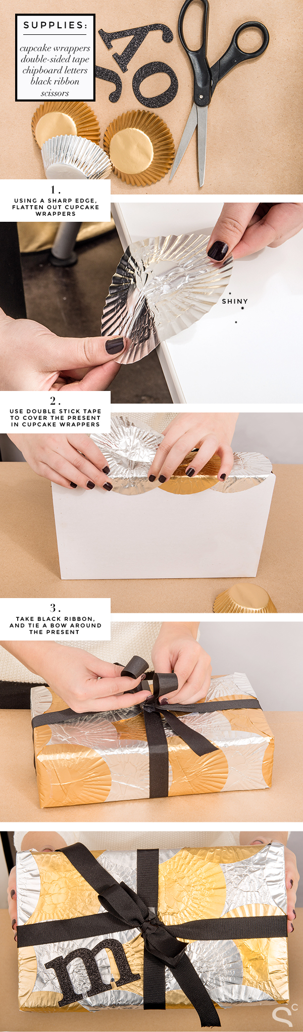DIY-Gift-Wrapping-Ideas-Cupcake-Wrapper