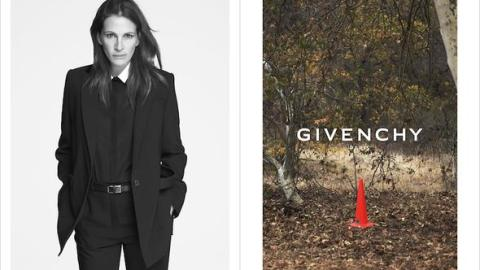 Julia Roberts New Face of Givenchy! | StyleCaster