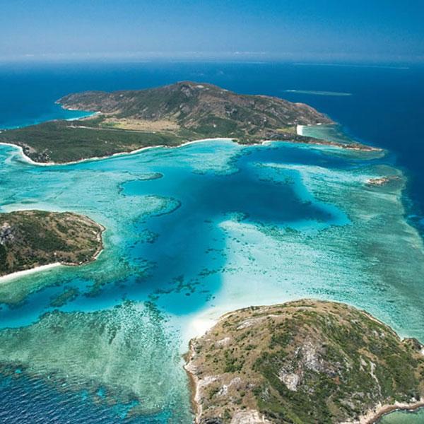 Australian islands.
