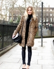 25 Ways to Style a Leopard Coat