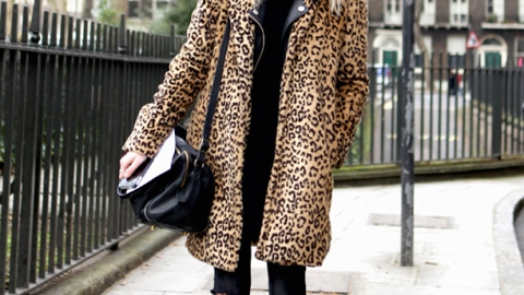 25 Ways to Style a Leopard Coat | StyleCaster