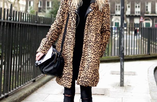 25 Fierce Ways to Style a Leopard Coat