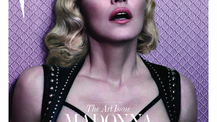 Madonna Goes Topless for Interview Magazine (and Gets Candid About Drugs, Death, and Prostitution)