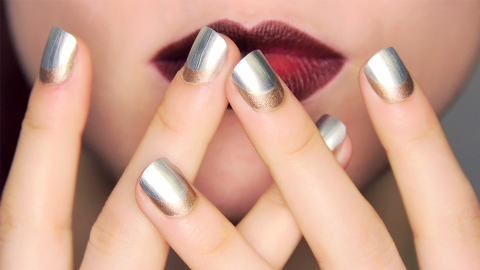 17 Metallic & Shimmery Party Nails You'll Actually Want to Try | StyleCaster
