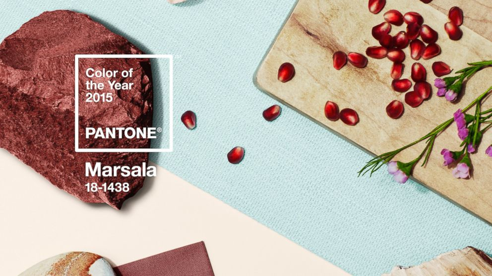 pantone color year marsala Pantone Color of the Year for 2015 is Marsala Red