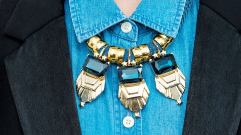 10 Ways To Wear a Statement Necklace | StyleCaster