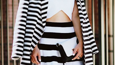 Try This: Wear Clashing Stripes | StyleCaster