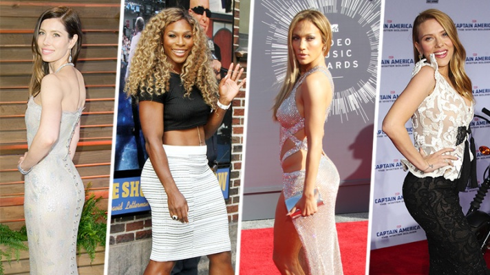 53 Butts In Hollywood That Are Serious Goals