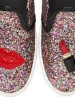 11 Pairs of Glittery Shoes