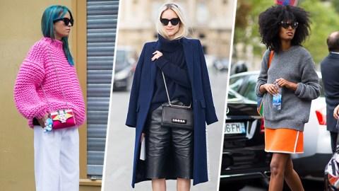 31 Ways to Style a Chunky Knit | StyleCaster