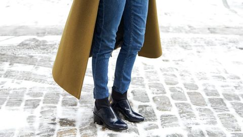 Ankle-Length Coats are Trending Hard   | StyleCaster