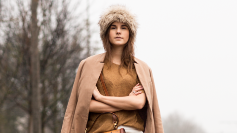 15 Cool Ways to Sport a Fur Hat | StyleCaster