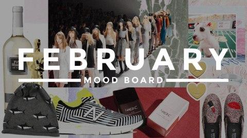 February Mood Board   StyleCaster