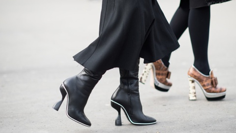 Are We Walking in Heels Wrong?  | StyleCaster
