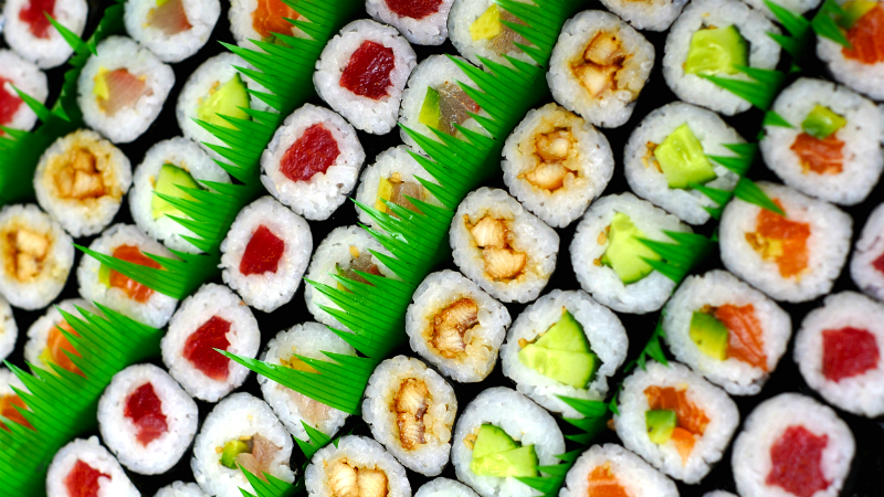 is sushi healthy diet