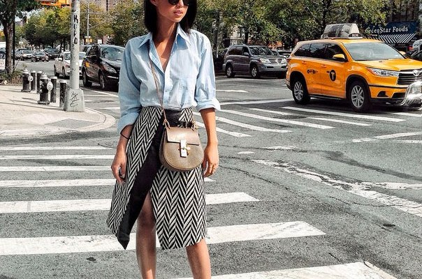 15 Outfits That Will Make You Want an Envelope Midi Skirt