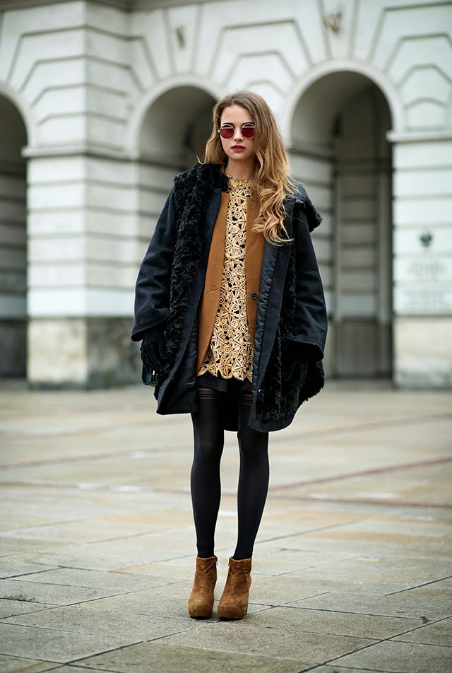 Winter Tights Outfits Stylecaster