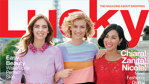 Fashion Bloggers Cover Lucky Mag | StyleCaster