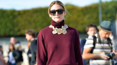 Try This: Necklaces and Turtlenecks | StyleCaster