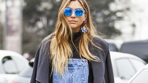 Try This: Deck Out Your Overalls | StyleCaster