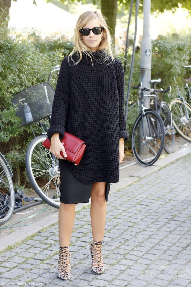fashion risk risks oversized sweater
