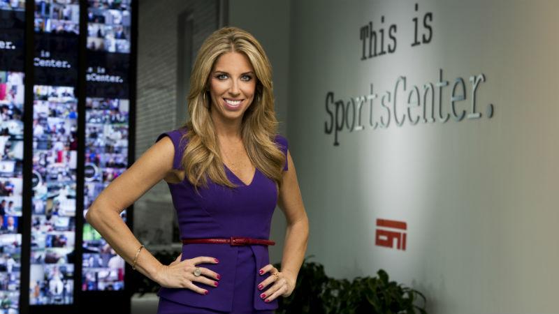 Sara Walsh on Super Bowl