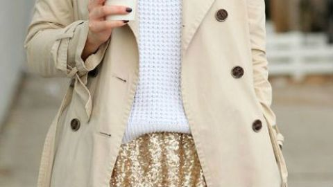 Try This: Mixing Basics and Sequins | StyleCaster